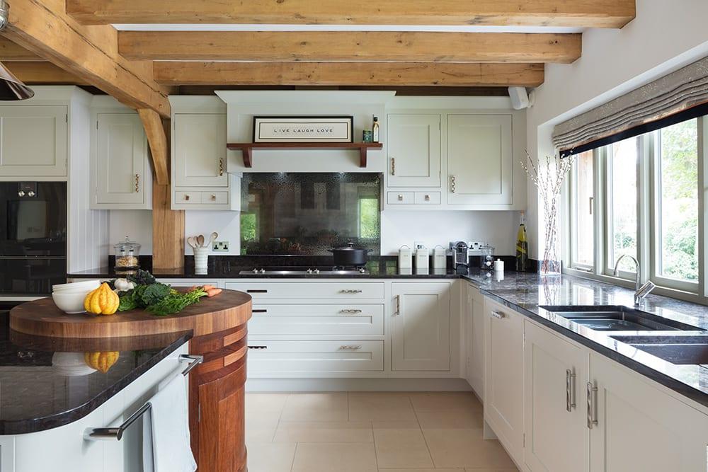 Granite Worktops in a Bespoke Hampshire Kitchen