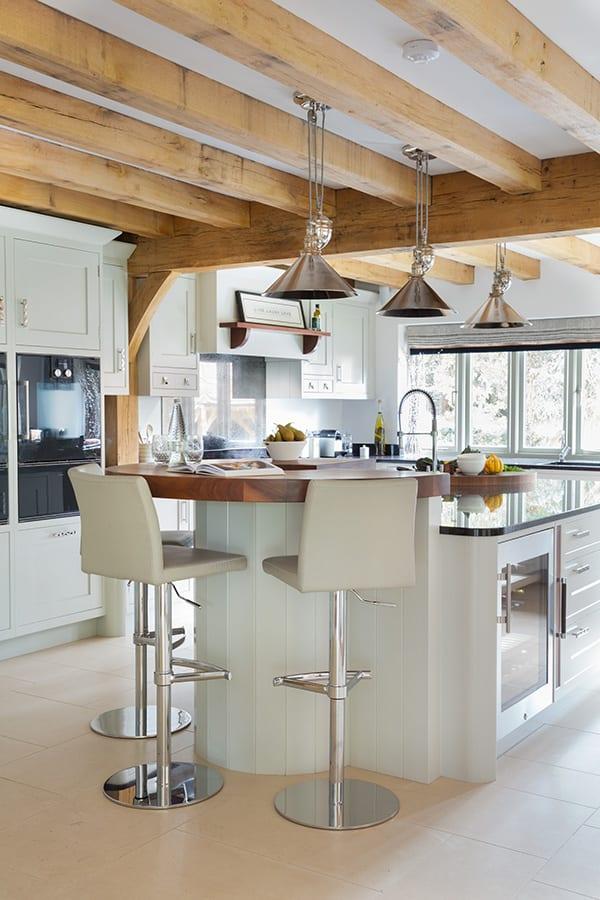 Beautifully Bespoke Kitchen Island in Hampshire