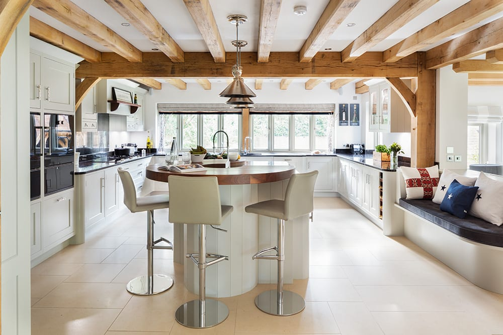 Luxury Kitchen and Lifestyle Space Created in Hampshire