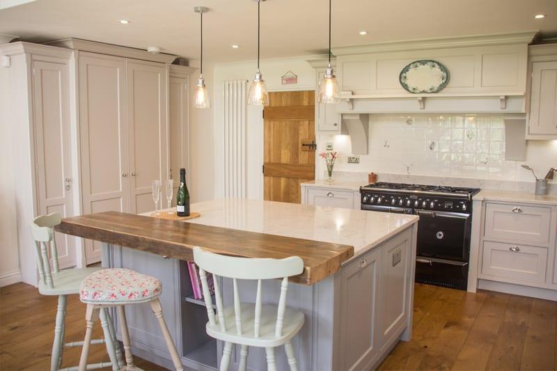 Large pantry unit in bespoke Hampshire kitchen
